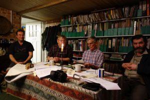 The SABI meeting in John Letts abode