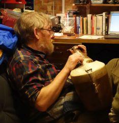 Richard playing ? my rabab