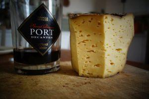Simon Farlies home made cheese (not the Port)