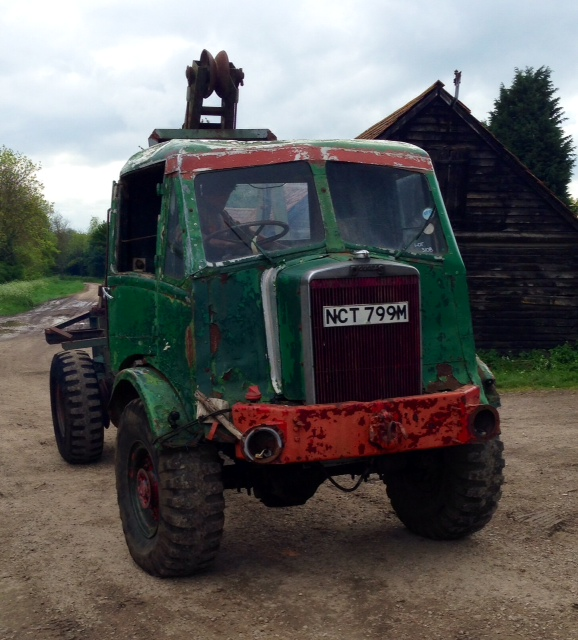 Douglas 1950's timber tractor
