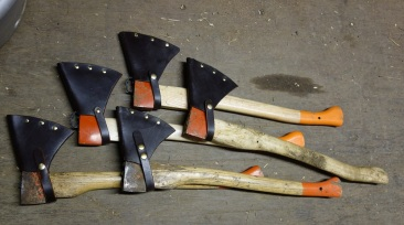 Graham's leather axe guards