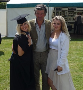 My day off at Siula's graduation with Ellie too