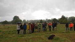 The end of a very wet day but fun was had by all
