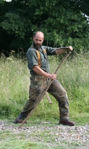 Looks like Paul has mastered his scythe!