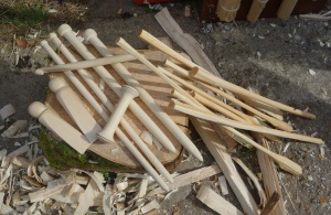 Items made from spindle wood