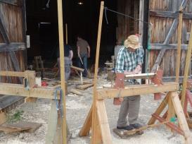 Making stool legs