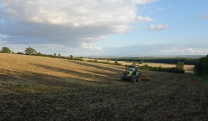 The farm cultivating the barley ground