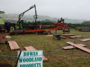 Rowan woodland products