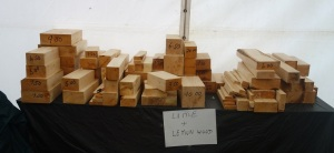 Small bits of wood for sale