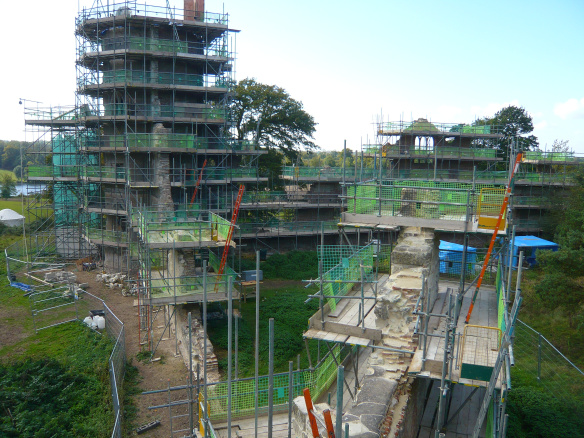 4 Scaffold access to all walls