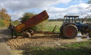Field entrance repair