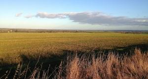 Looking over towards Cambridge