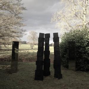 Oak pillars
