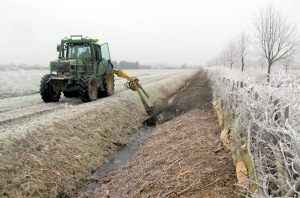 Ditch cleaning 2008