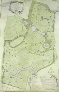William Eames plan for Wimpole in 1790