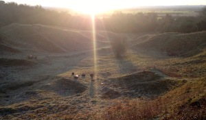 Orwell clunch pit