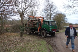 Some of our wood has been sold to a local firewood merchant