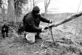 Novel way of holding timber
