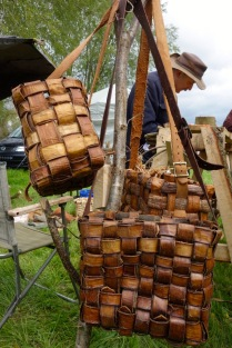 Elm bast baskets