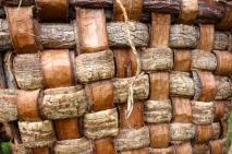 Woven elm bark