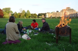Steph and Hatties evening picnic