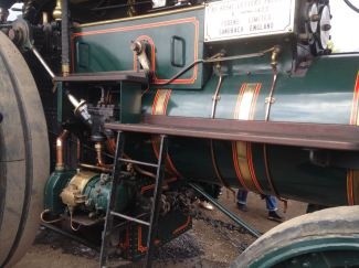 One of the Traction steam engines