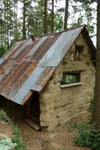 The new straw bale house