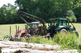 Nice Valmet tractor