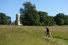 Mark on his quarter acre