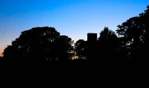 The folly in twilight