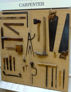 The carpenters display
