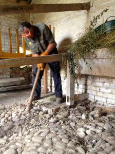 Removing the concrete