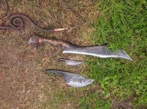 Lost sword