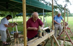 The beginners pole lathe course