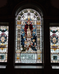 The Clifden stain glass window