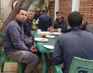 Breakfast in Jordan