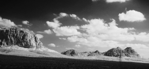 The start of Wadi Rum