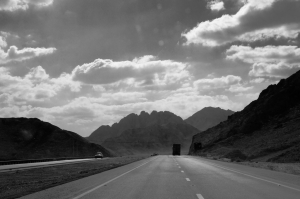 The road to Aqaba