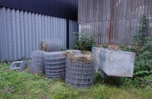 Stock netting saved and stored