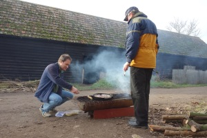 Wympole Green Woodworkers Christmas BBQ
