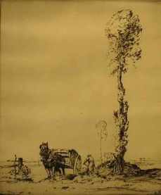 eherbert-whydale-loading-the-cart-etching-139811