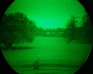 Night time surveying