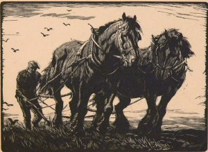 The two horse plough land George Soper