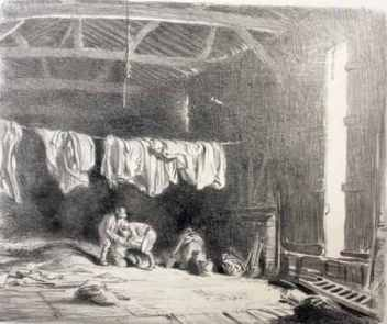 A barn full of implements George Soper