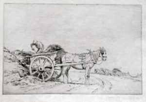 The manure cart George Soper