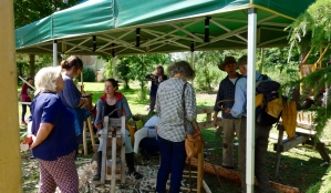 The Wympole Green Woodworking group