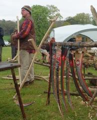 Mark Allery's scythe shop