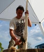 Ah Julian's making a STICK!