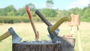Spoon carving axes