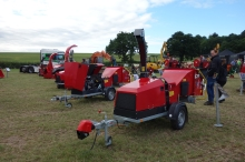 Loads of woodchippers